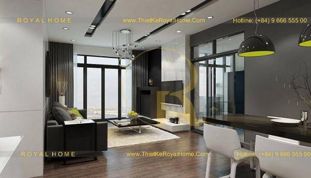 Các lưu ý khi thiết kế nội thất chung cư cao cấp