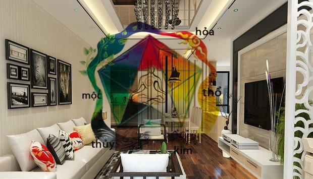 Lưu ý không thể bỏ qua về Phong Thủy khi Thiết kế nội thất