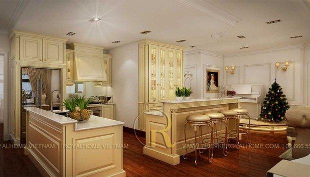 Làm đẹp không gian bếp với những cách phối màu cực đỉnh