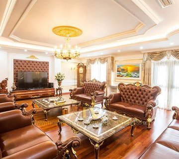 Thi công phòng khách nha lo 71 Lê Văn Lương - Anh Bắc