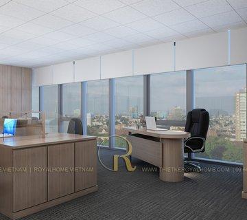 Thiết kế Văn phòng Nước mặt Sông Hồng